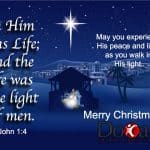 Jesus the Light of Men
