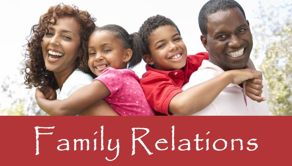 ST 202 Family Relations