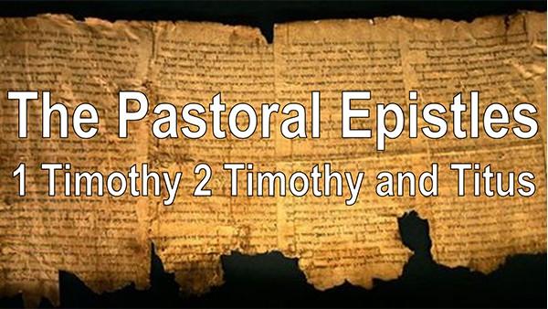 BS 115 Pastoral Epistles